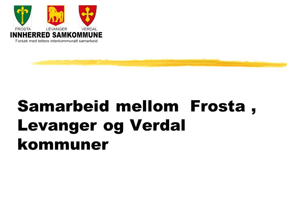 Samarbeid mellom Frosta, Levanger og Verdal kommuner