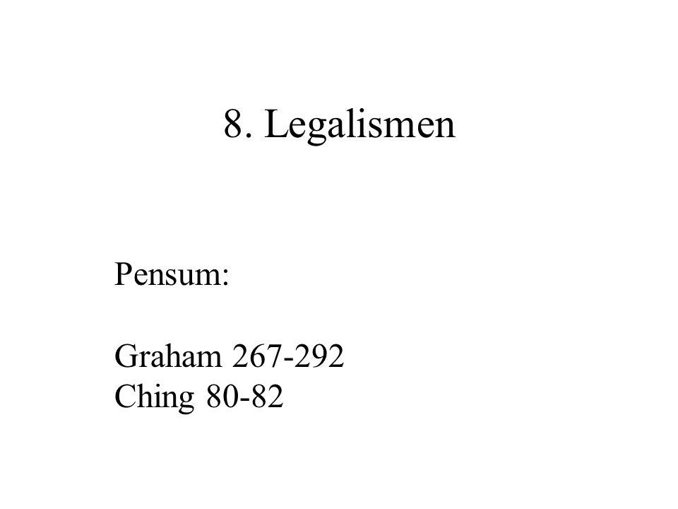 Hanfei og Laozi Veien (dao 道 ) er det som gjør at alle ting er som de er, og der hvor alle mønstre (li 理 ) faller sammen.