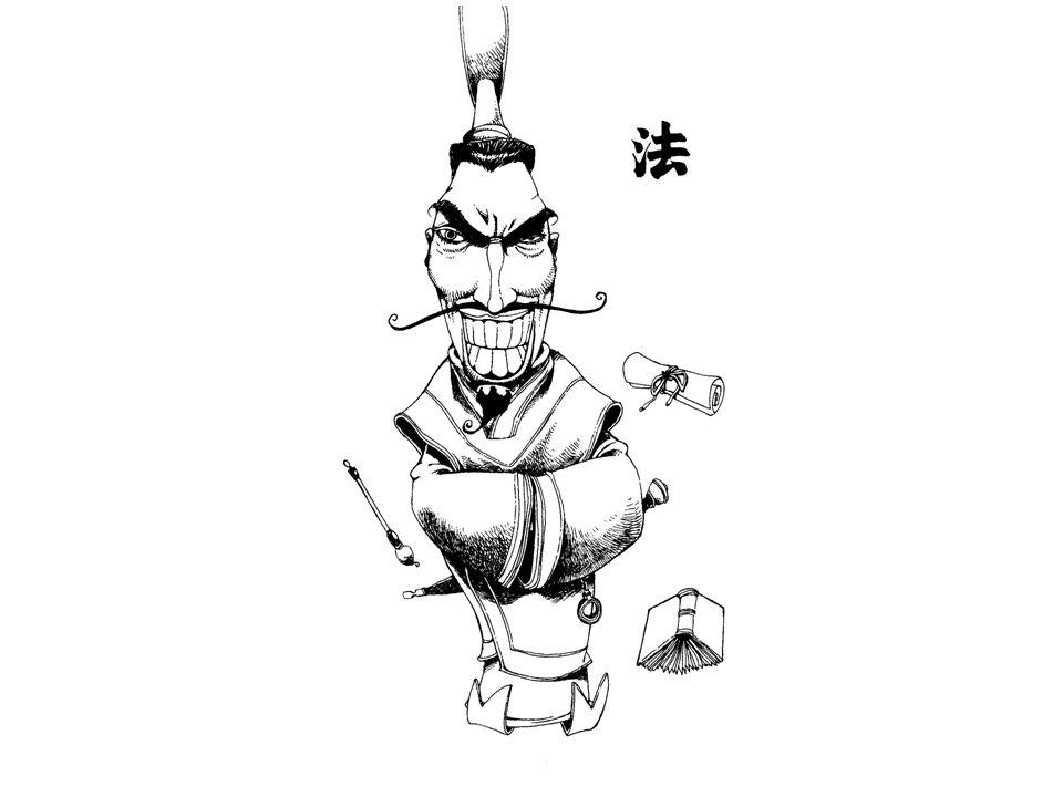 Moral kontra maktbase Historien om selvmotsigelsen - spyd mot skjold 矛盾 Konfusianernes argumenter om makt og moral lar seg ikke realisere