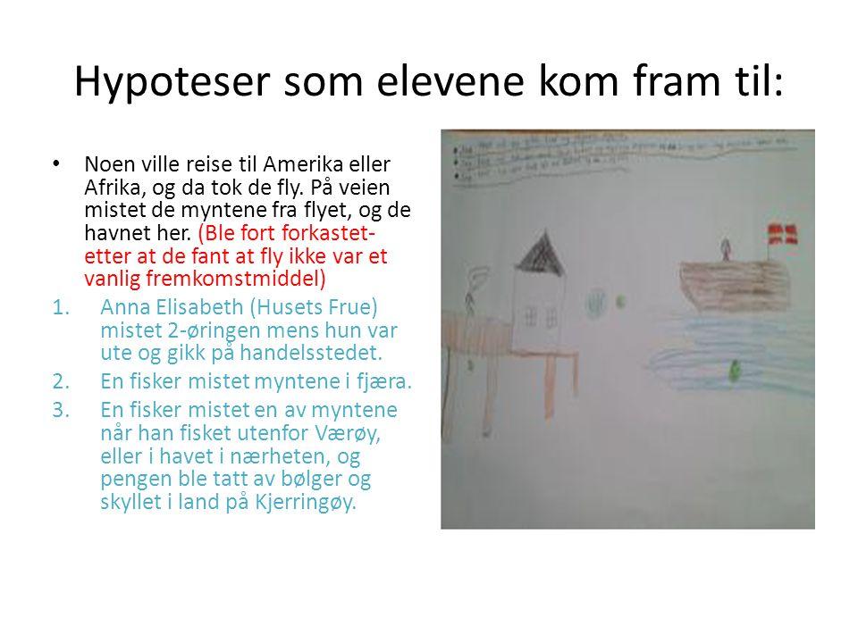 Undersøkelsesfasen Vi vil teste hypotesene og ha elevaktiv læring Undersøke hva som synker, eller flyter.