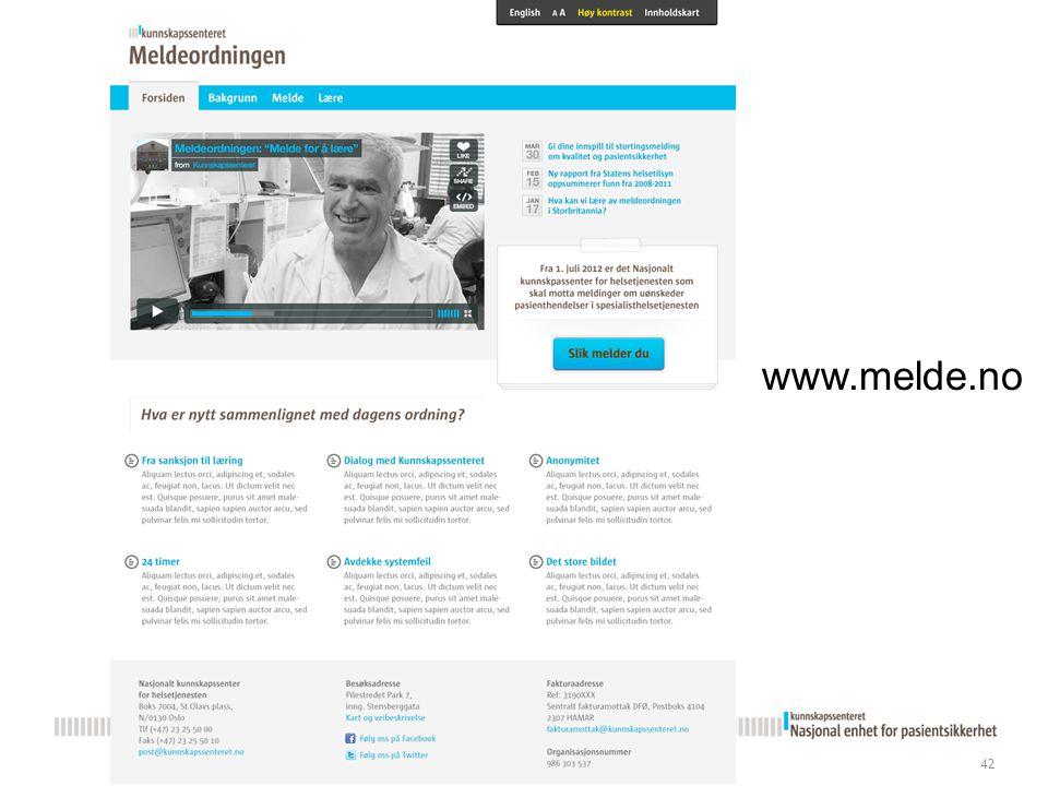 42 www.melde.no