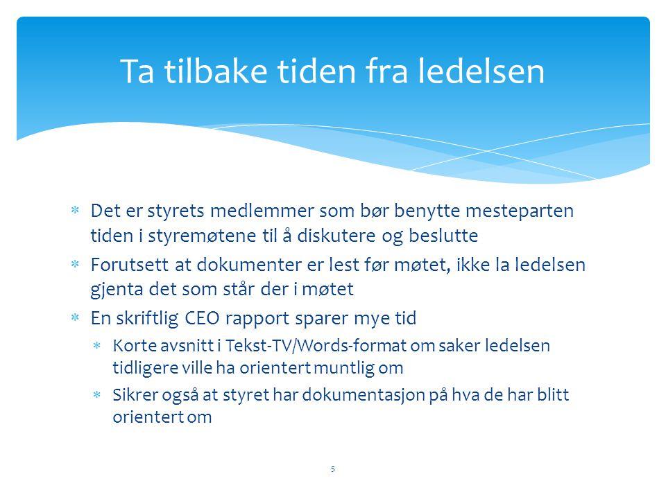 Store ulikheter, kan være verdifulle Norge  Individorientert  Beslutningsorientert  Ad hoc og raskt  Reell åpen diskusjon  Politisk og pragmatisk  Atlantisk orientert  Staten som eier dominerer Sverige  Gruppeorientert  Prosessorientert  Planfokusert  Slutten på en reise  Forutsigbart  Baltisk orientert  Private eiere dominerer 6