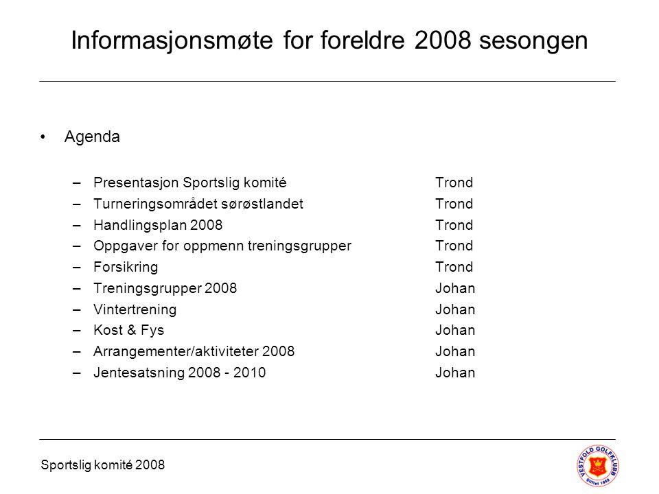 Team 2008 Føljande spelare har kvalifiserat sig og har en plats i Team 2008.