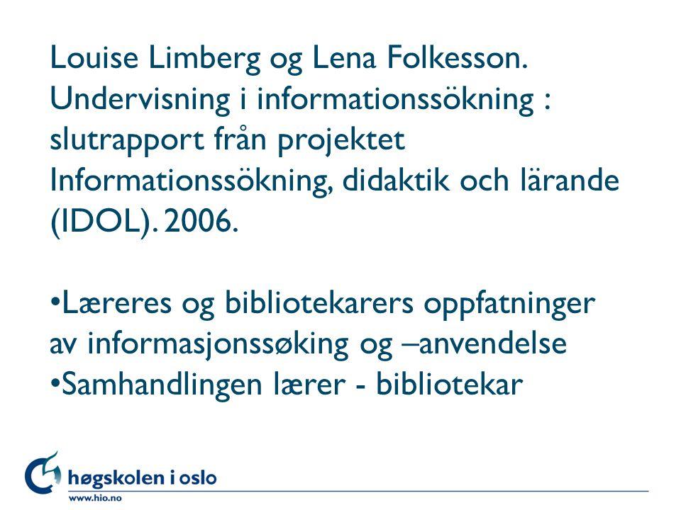 Louise Limberg og Lena Folkesson.