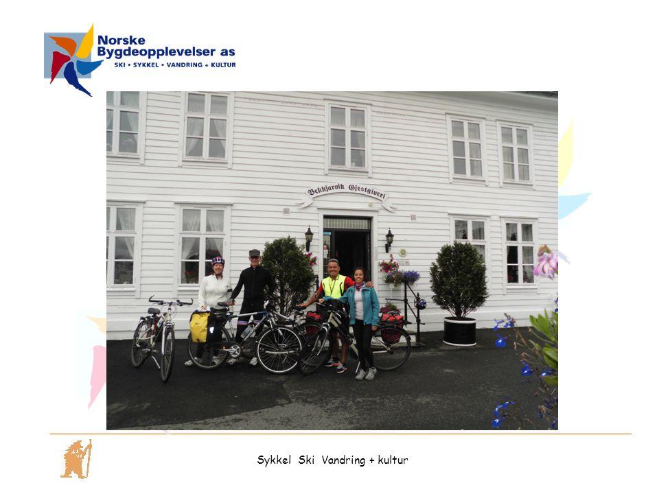 Sykkel Ski Vandring + kultur
