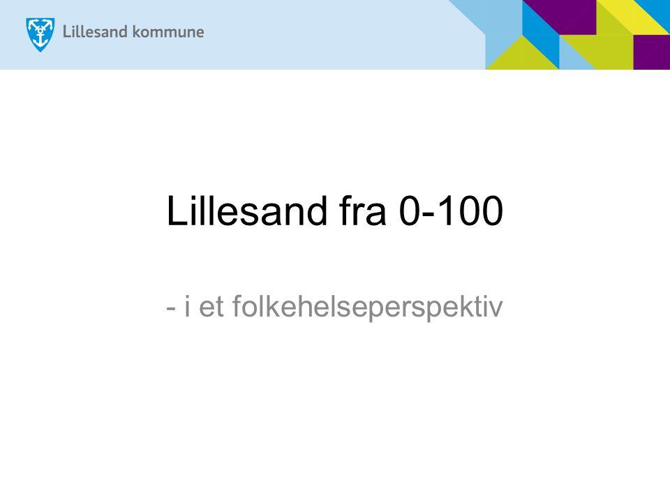 Ola Lillesander født 23.09.2014 Hva vil god folkehelse bety for livskvalitet til hver enkelt.