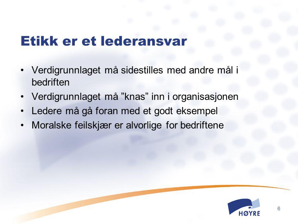 7 NHOs sjekkliste v/utenlandsetablering Har selskapet interne regler som hindrer diskriminering.
