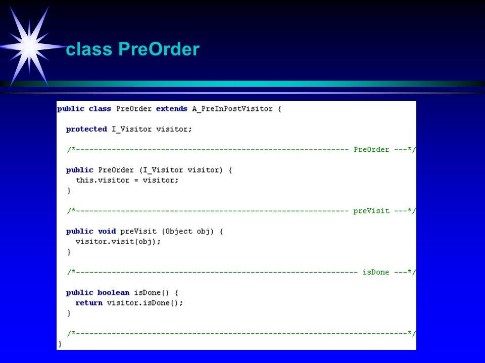 class PreOrder