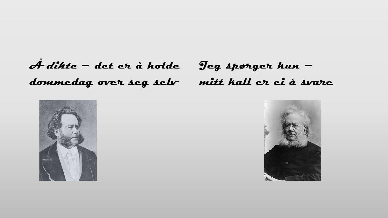 Kort vandring gjennom Ibsens liv (Kariannes tema) Faren Knut var velstående, men gikk konkurs slik at familien måtte flytte til sommerboligen på Venstøp da Henrik var åtte år – en skam Da Henrik var 14, flyttet han til Grimstad og ble apotekerlærling.