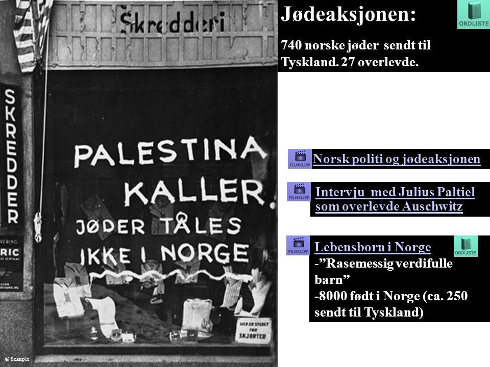 Norsk politi og jødeaksjonen Jødeaksjonen: 740 norske jøder sendt til Tyskland. 27 overlevde. Intervju med Julius Paltiel som overlevde Auschwitz Lebe