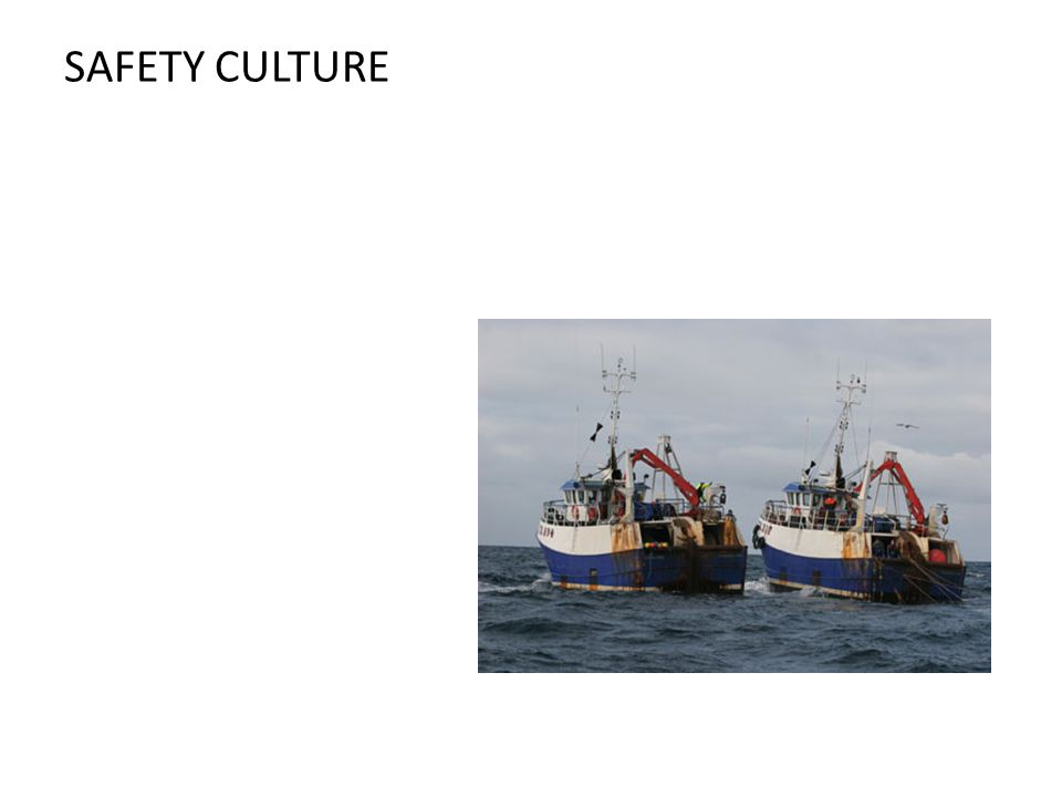 Fishing Safety Culture.