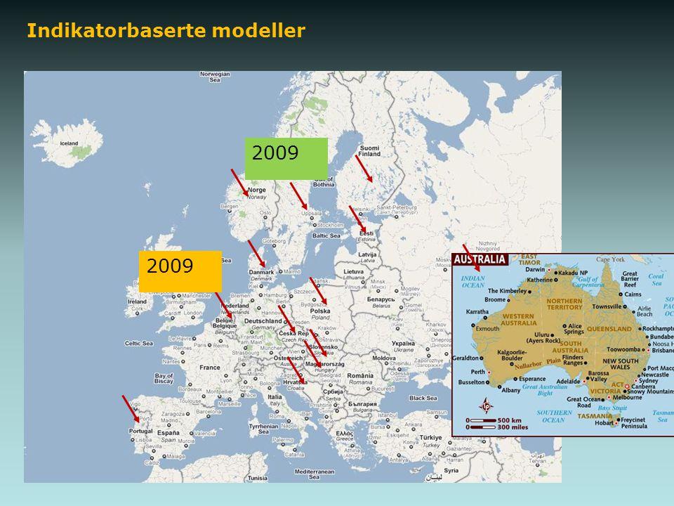 Indikatorbaserte modeller 2009