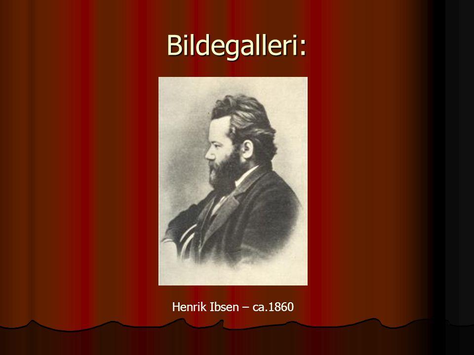 Bildegalleri: Henrik Ibsen – ca.1860