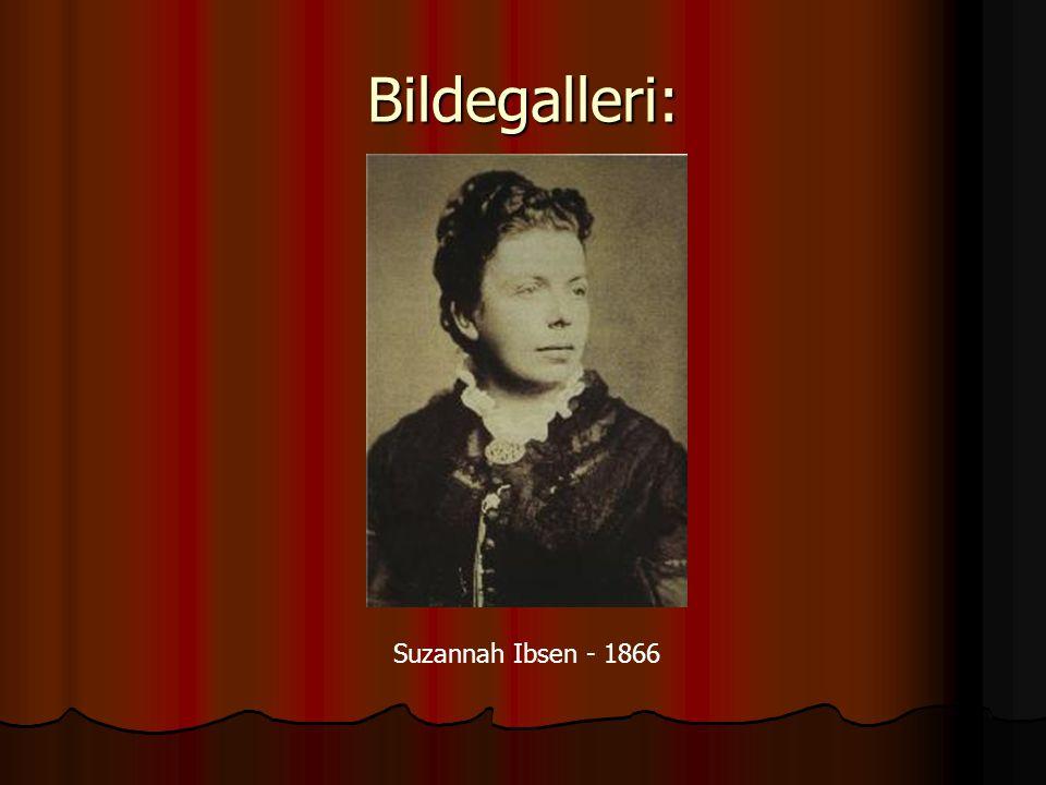 Bildegalleri: Suzannah Ibsen - 1866