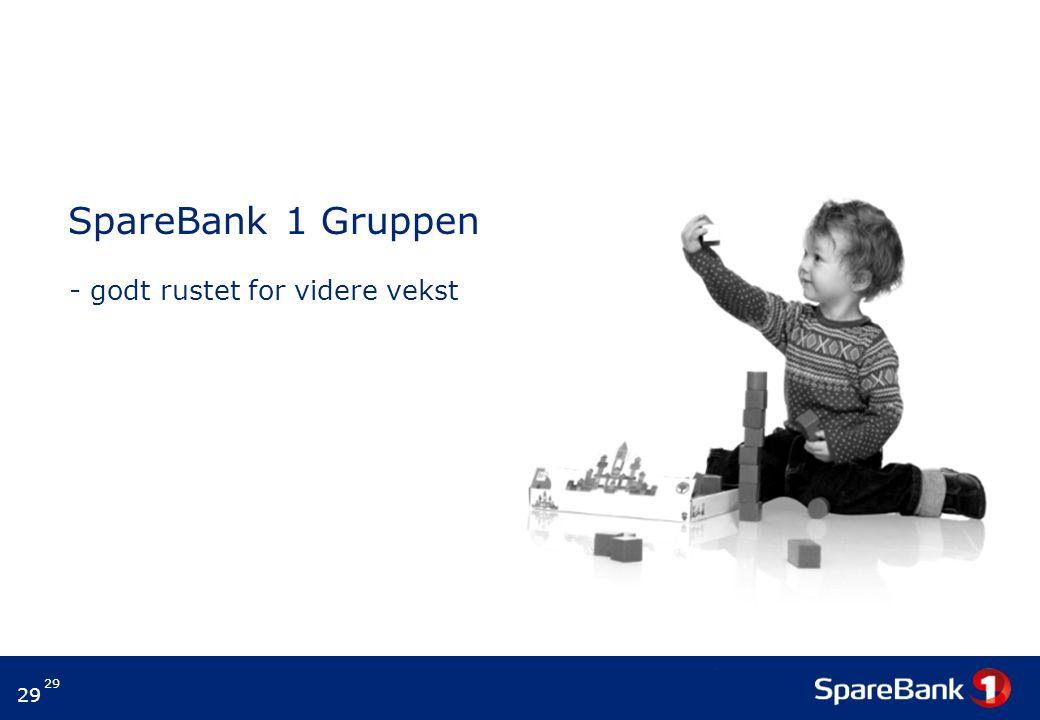 29 SpareBank 1 Gruppen - godt rustet for videre vekst