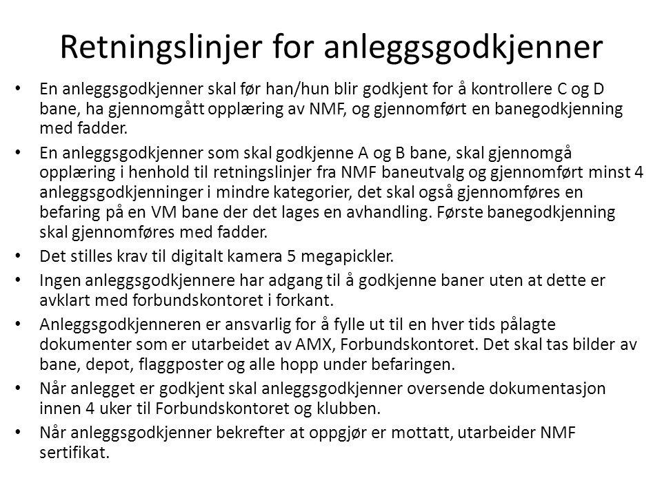 Retningslinjer for NMF.