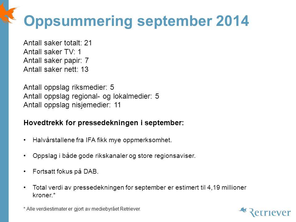 Massivt mobilfall Computerworld Norge, 05.09.2014 17:33 Aslak Borgersrud Publisert på nett.