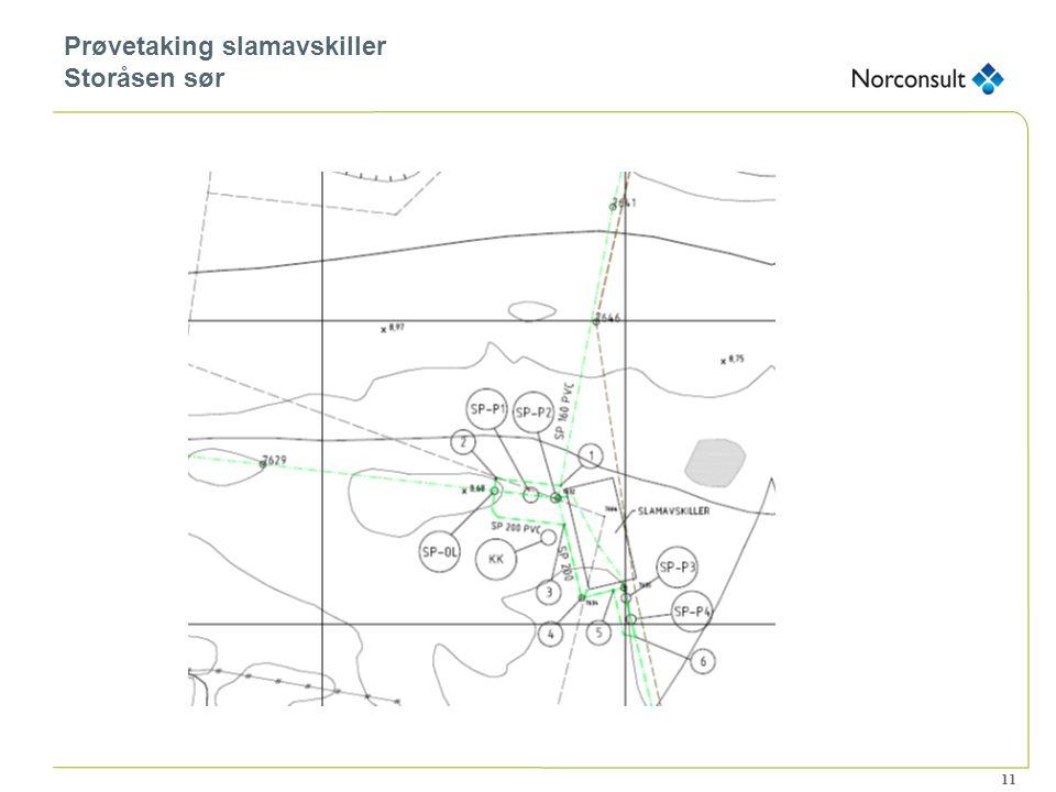 11 Prøvetaking slamavskiller Storåsen sør