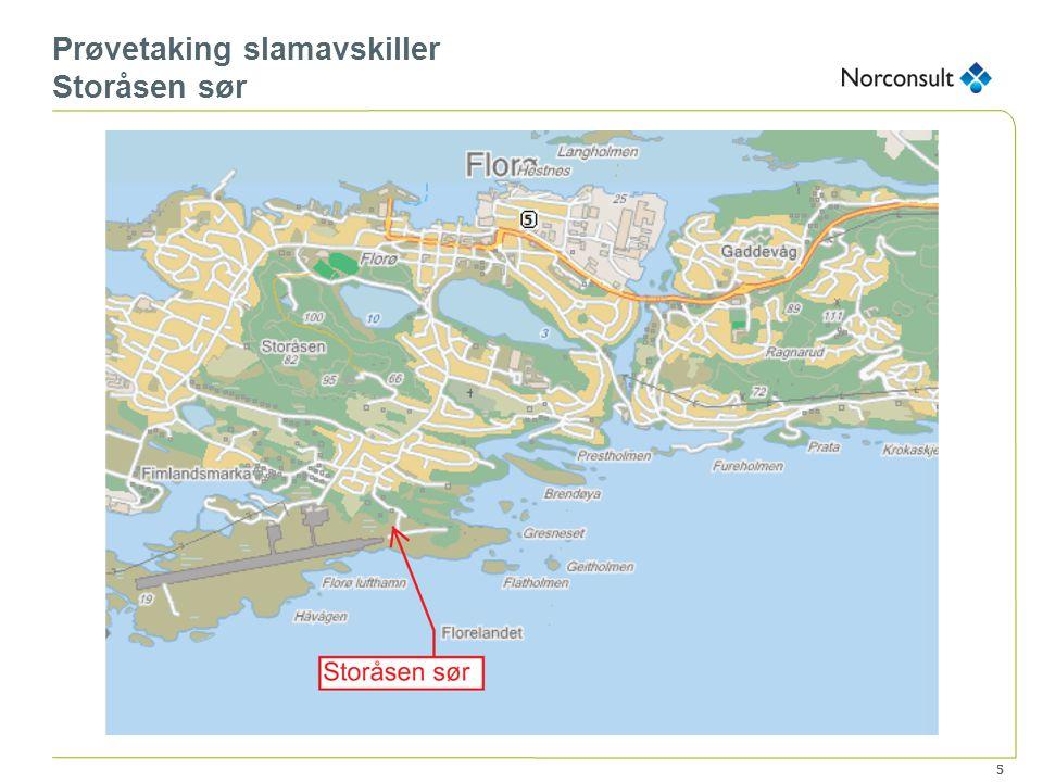 5 Prøvetaking slamavskiller Storåsen sør