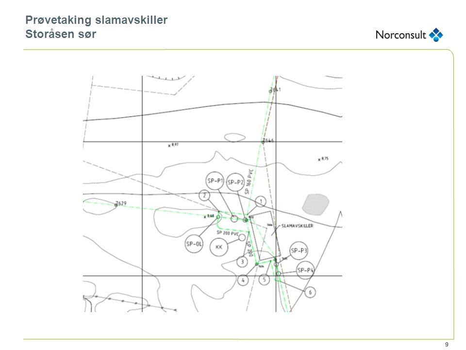 9 Prøvetaking slamavskiller Storåsen sør