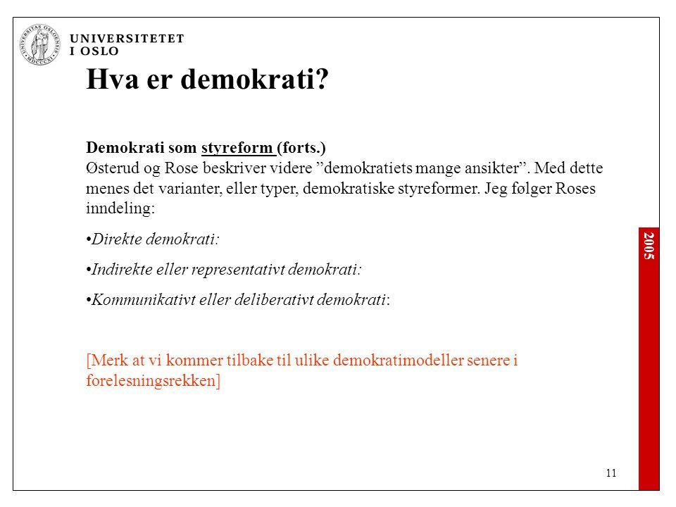 2005 11 Hva er demokrati.
