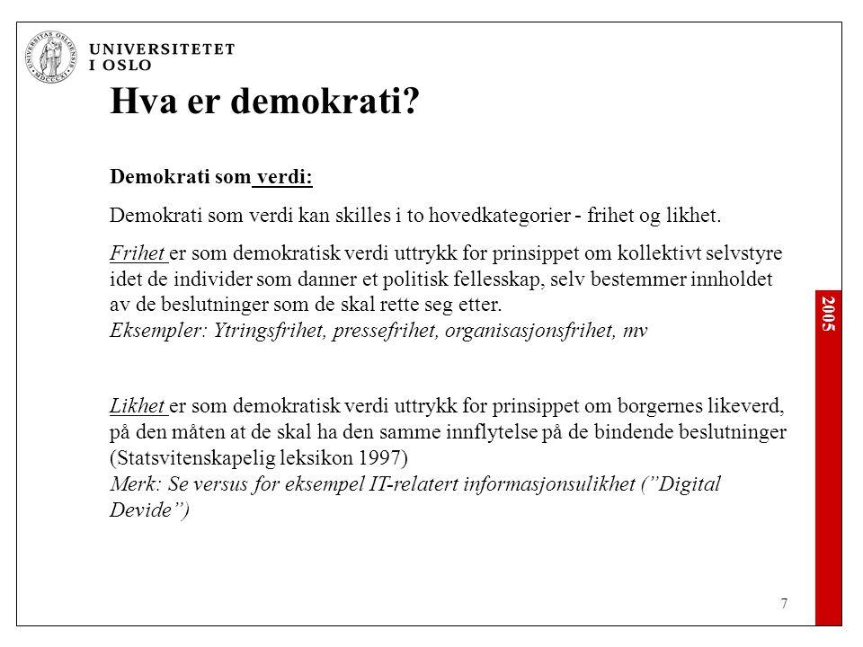2005 28 Demokratiet i krise .