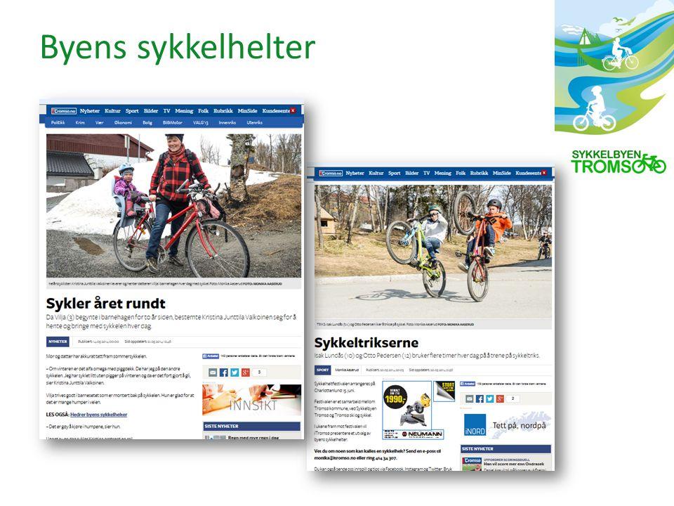 Byens sykkelhelter