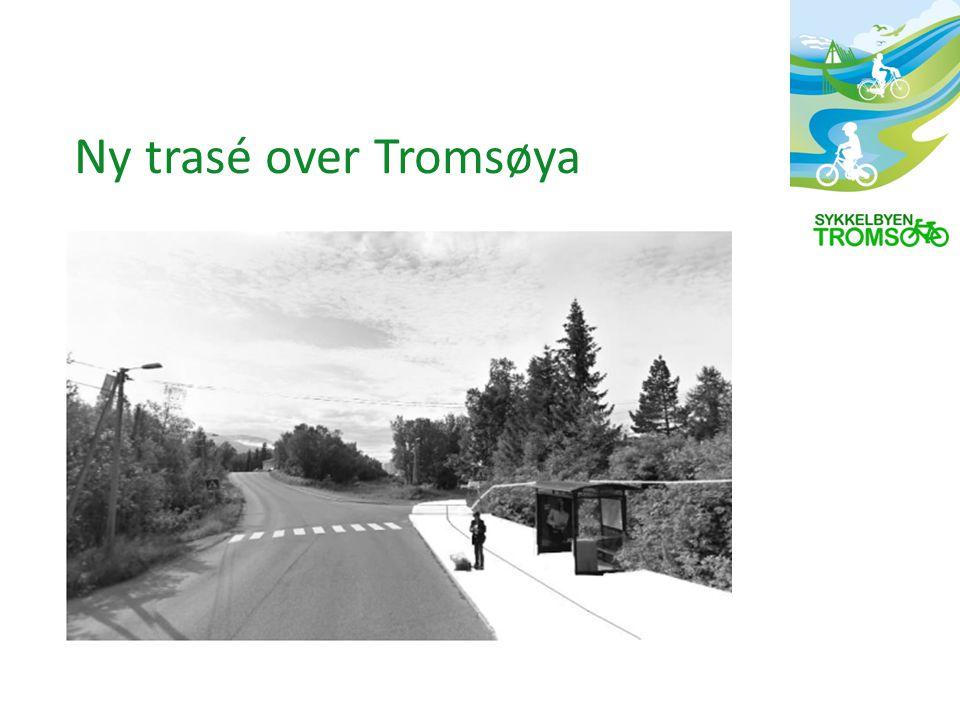 Ny trasé over Tromsøya