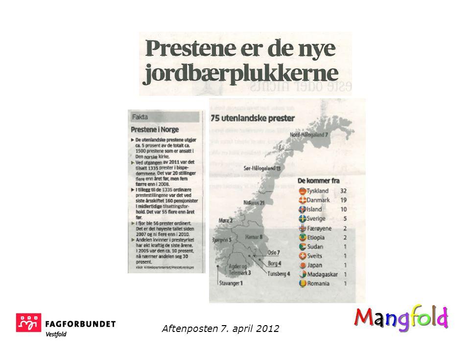 Aftenposten 7. april 2012