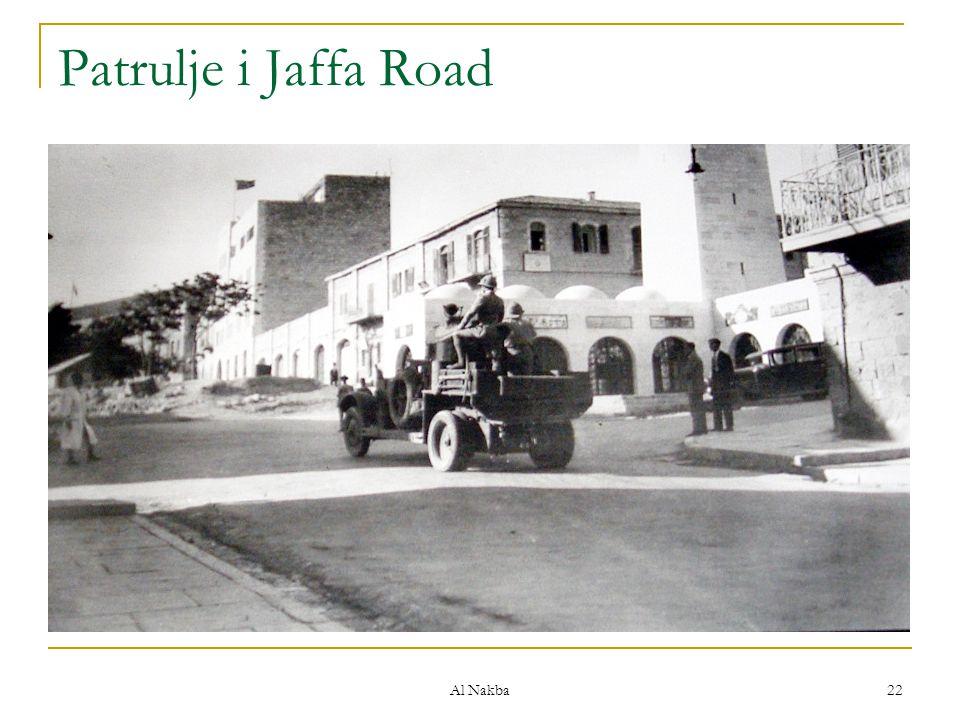 Al Nakba 22 Patrulje i Jaffa Road