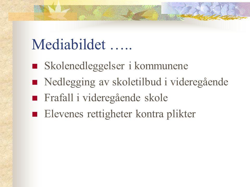 Hvem setter dagsorden for norsk skole Utdanningsforbundet KS Stortinget Kommunene og fylkeskommunene som skoleeiere