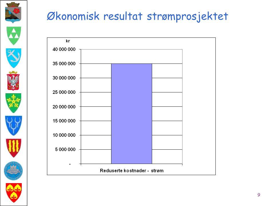 Økonomisk resultat (ekskl. strømprosjektet) 8
