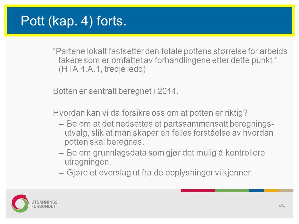 s15 Pott (kap.4) forts.