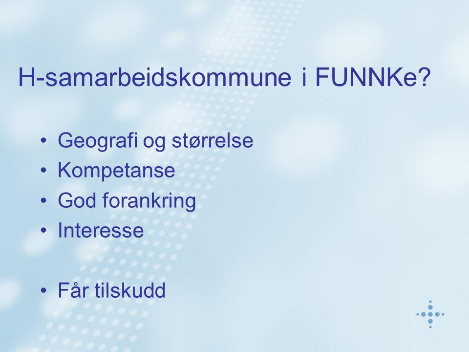 H-samarbeidskommune i FUNNKe.
