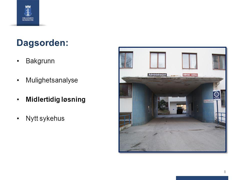 Drammen kommune 2012: Kommunale eiendommer tilbys VVHF på gunstige vilkår Utleie av eiendommer til VVHF Drammen kommune tilbyr beboere frivillig innløsning Bygge- og deleforbud vurderes Utreder P-løsninger Kartlegge andre alternativer i Drammen 9