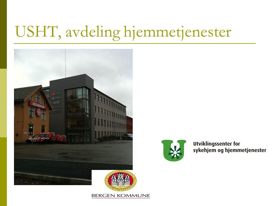 USHT, avdeling hjemmetjenester