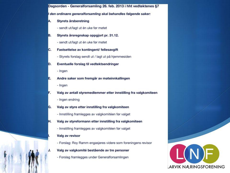  LNFs hovedfokus 26.