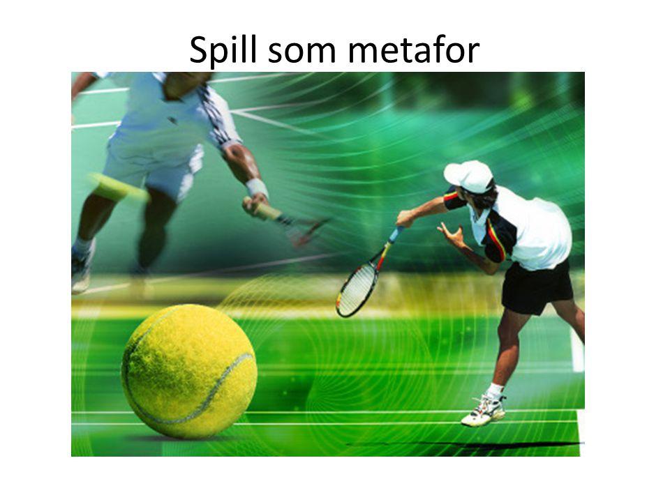 Spill som metafor