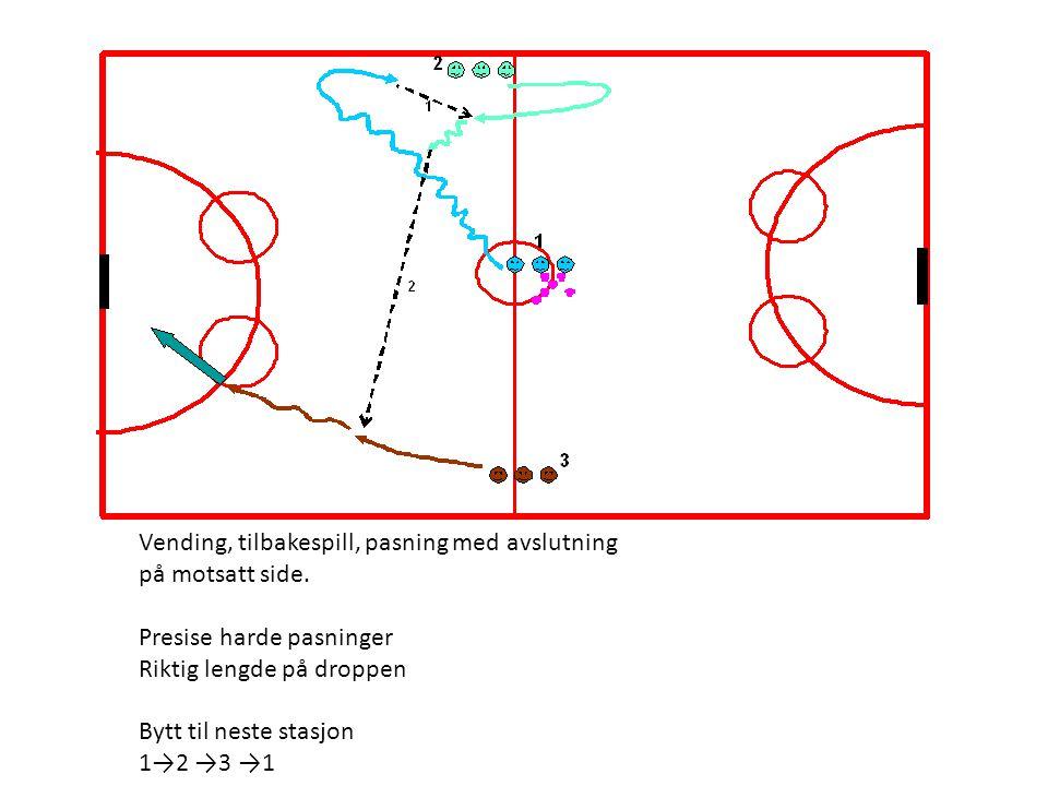 Trening 5, avansert (90 min) oppvarmning video 15 (min) og deretter 2 og 2 passninger (5 min) Forsvaret/Angrep oppdelt (separate øvelser) (20 min) Store øvelsen (15 min) 3 mot 5, 4 mot 6 (15 min) Eventuellt øvelse med 3 grupper