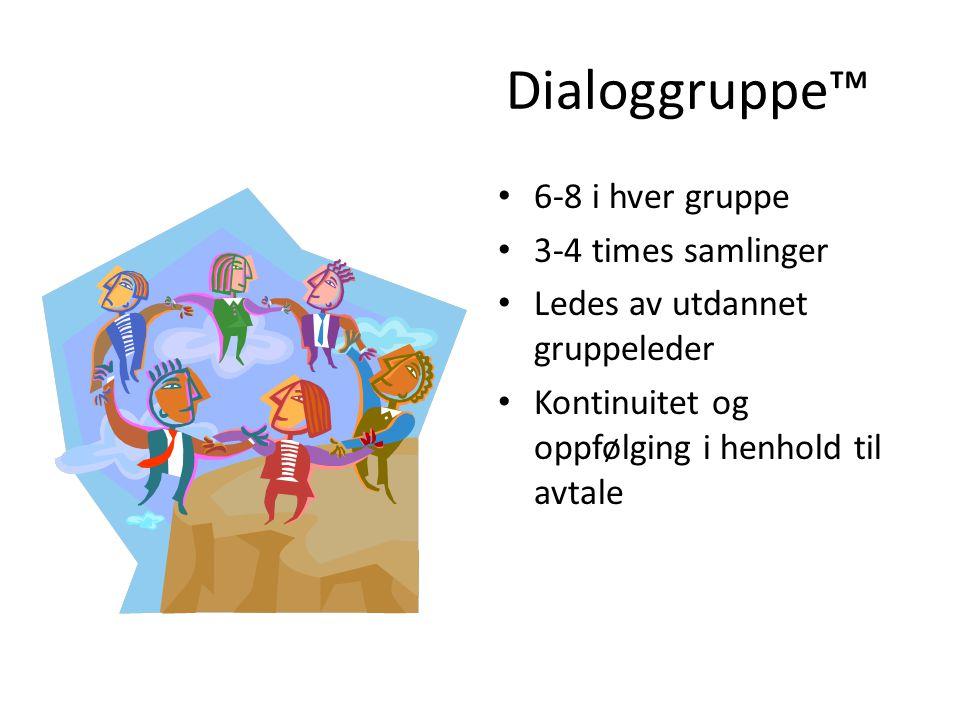 Ca 15 min SAMLING Dialoggruppe™