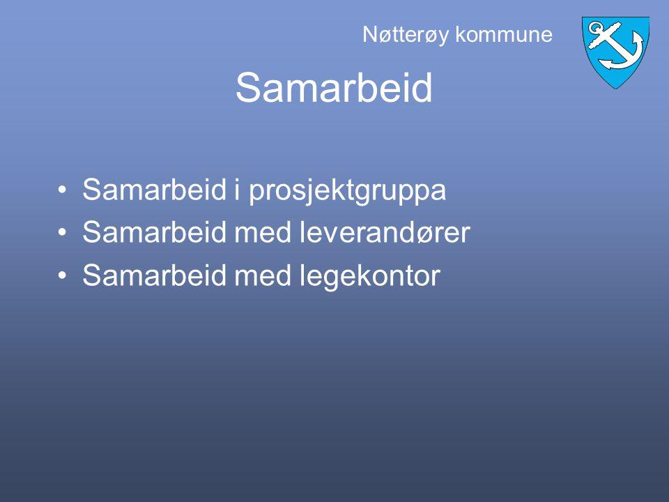 Nøtterøy kommune Rutiner Videreføre gode rutiner på mottak Gode rutiner på sendinger Sikre rutiner som sier noe om meldinger er lest, journalført og eller laget tiltak.