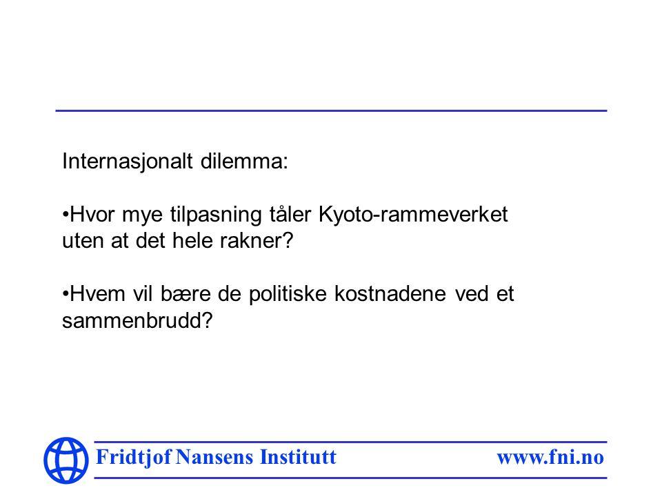 Fridtjof Nansens Institutt www.fni.no