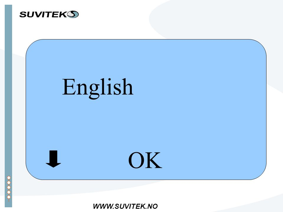 WWW.SUVITEK.NO English OK
