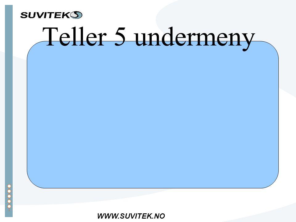 WWW.SUVITEK.NO Teller 5 undermeny