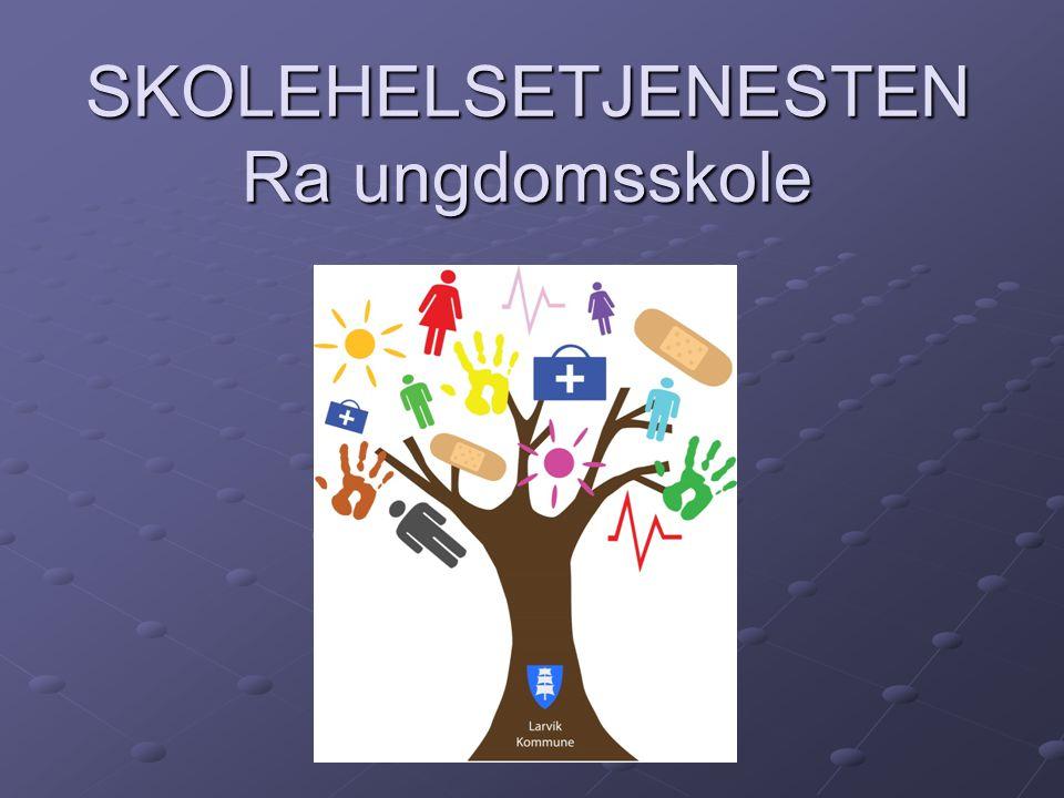 Skolehelsetjenestens program 10.klasse: Vaksine (difteri, stivkrampe, kikhoste, poliomyelitt) 8.