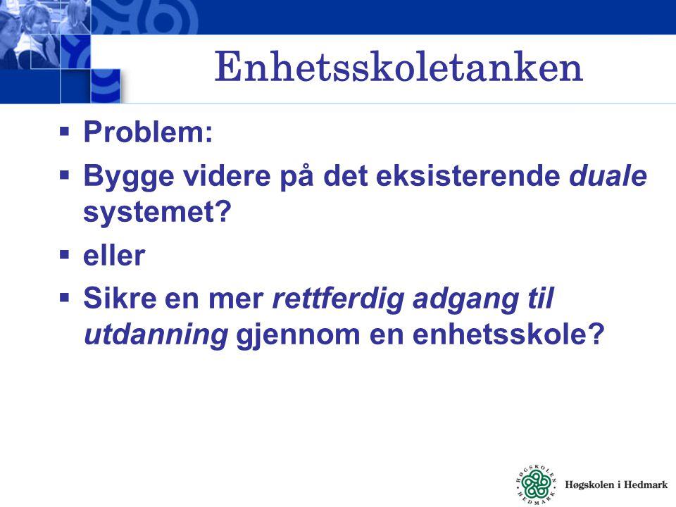  Til å begynne med var målet for opplæringa i Norge verken å opprettholde status quo eller styrke posisjonen til den styrende eliten  Litterasitetsstrategien var riktignok et politisk initiativ for å utviklinga av et felles språk og en felles kultur (Nasjonal litterasitetsopplæring).