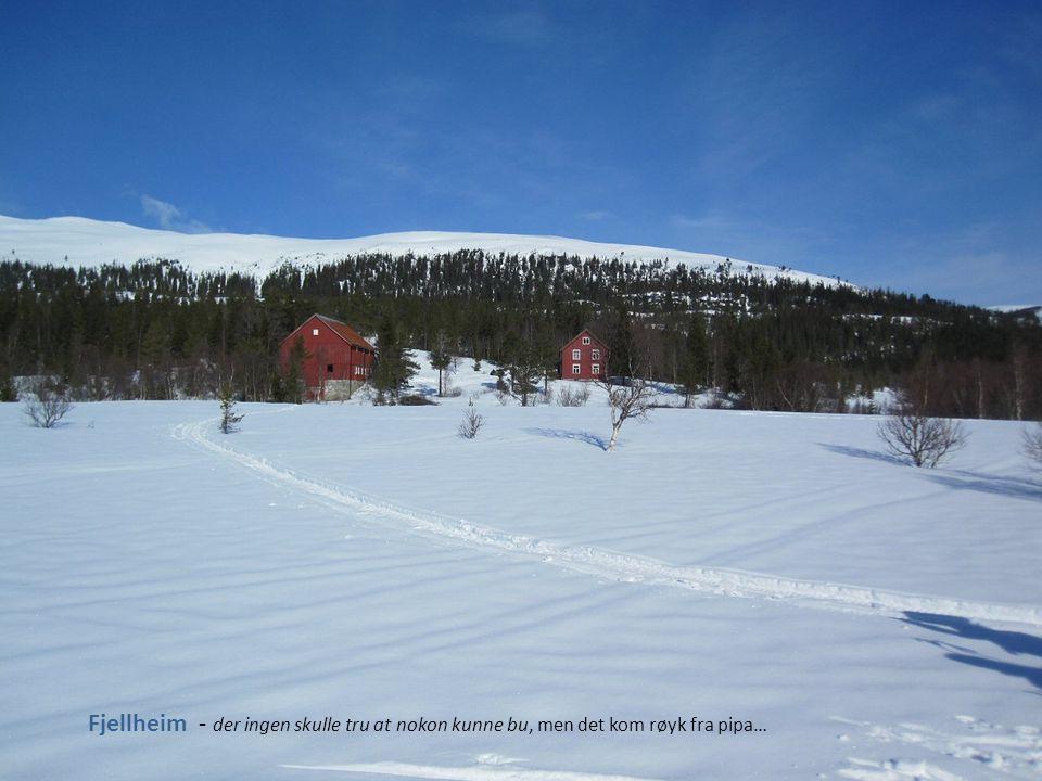 Finnvollen - her var ingen heime for å ta i mot skituristene