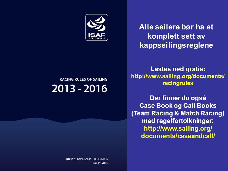 Forskjell på lagene? (jfr. Lag VM 2011, Irland) Fargestriper i forseilet (merkeduk), seilerne har fargede nummervester, etc T.Log