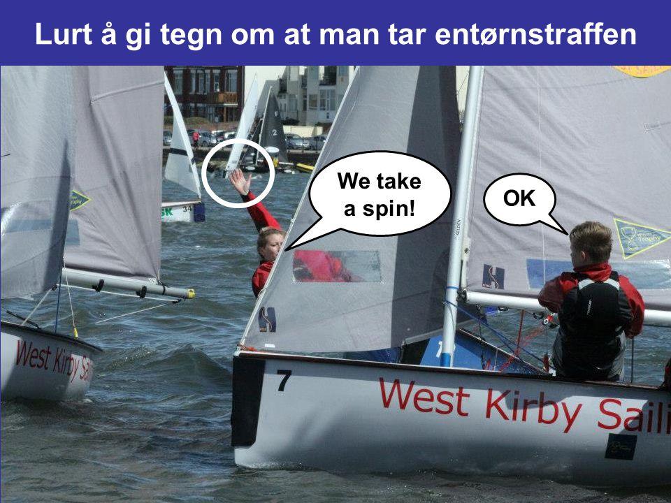 PROTEST ! 15FÅ RETT TIL VEIEN Når en båt får rett til veien, skal den til å begynne med gi den andre båten plass til å holde av veien, med mindre den