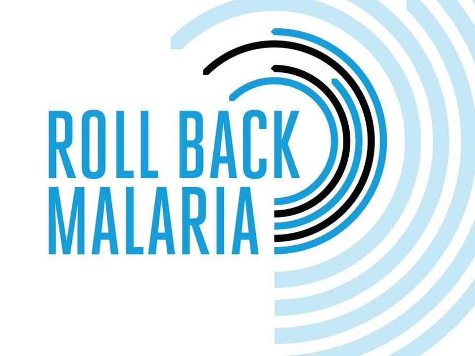 ROLLBACK MALARIA's strategi omfatter distribusjon av Insektmiddel- behandlede mygg nett (ITNs) for å hindre at mygg smitter mennesker med malaria.